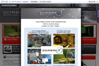 GORBREX Machinery Trade Sp. z o.o.