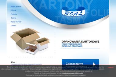 ROAL Przedsiębiorstwo Handlowo-Usługowo-Produkcyjne - Opakowania Plastikowe Kobylnica