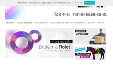 DRUKARNIA FIOLET - Naklejki Katowice