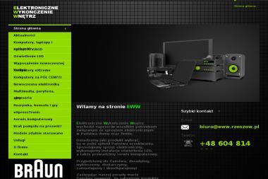 Elektroniczne Wykończenie Wnętrz - Instalacja, konfiguracja komputerów i sieci Rzeszów