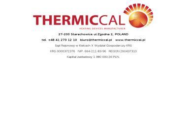 THERMICCAL Sp. z o.o. - Metaloplastyka Starachowice