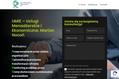 Usługi Menadżerskie i Ekonomiczne Marian Nocoń - Katalog Produktów Katowice