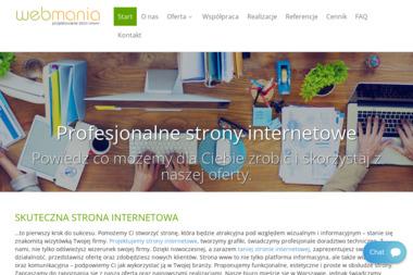 WEBMANIA Strony Internetowe - Pozycjonowanie stron Warszawa