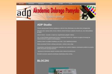 ADP Studio Aldona Janicka - Ulotki Składane Poznań