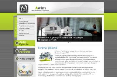 AWIM - AGENCJA WSPIERANIA INICJATYW MIESZKANIOWYCH BIURO PROJEKTOWO - BUDOWLANE - Projektowanie konstrukcji stalowych Namysłów