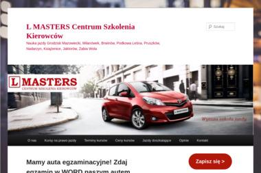 Centrum Szkolenia Kierowców L Masters - Szkolenia Dofinansowane Grodzisk Mazowiecki