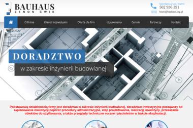 BAUHAUS Zenon Ćwik - Kierownik budowy Paczków
