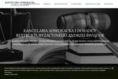 Kancelaria Adwokacka - Andrzej Świąder - Radca prawny Łódź