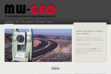 Przedsiębiorstwo Usług Geodezyjnych MW-GEO - Budowa Domów Tychy