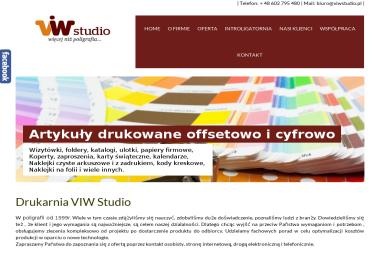 ViW Studio Wiktor Krawczyński - Naklejki Dobiesz