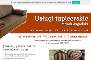 Tapicerstwo meblowe-samochodowe - Tapicer Wałbrzych