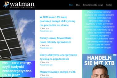 Watman.pl - Architekt wnętrz Lublin