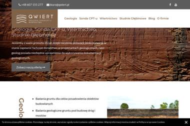 """""""QWIERT"""" - Usługi Geologiczne Kielce"""