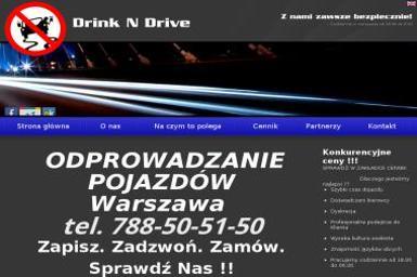 Odprowadzanie Pojazdów - Drink N Drive - Wynajem kierowców i operatorów maszyn Warszawa