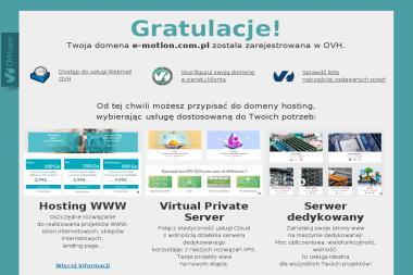 E-Motion AIP SGH Warszawa - Pozycjonowanie stron Warszawa