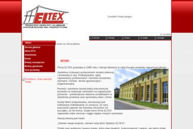 PUPH ELTEX T.R. ZPCH - Stolarka Aluminiowa NOWA DĘBA