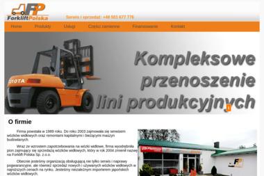 Forklift Polska  Sp. z o.o. - Wózki widłowe Deszczno
