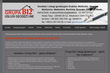GRUPA B12 USŁUGI GEODEZYJNE - Geodeta Kraków
