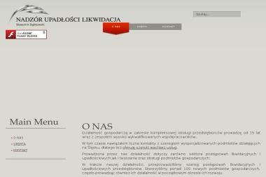 Nadzór Upadłości Likwidacja - Sławomir Dąbkowski - Usługi Prawne Mikołów
