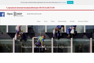 Open BHP Ma艂gorzata Senator - Szkolenie z Pierwszej Pomocy 呕migród