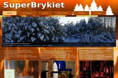 """""""Superbrykiet"""" phu SZKIL Jacek Szkil - Sprzedaż Opału Choroszcz"""
