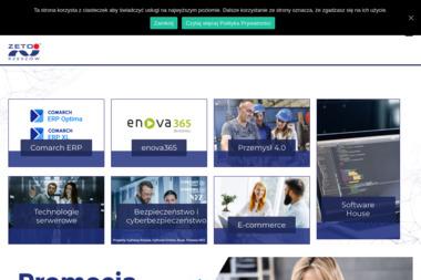 ZETO-RZESZÓW Sp. z o.o. - Programista Rzeszów