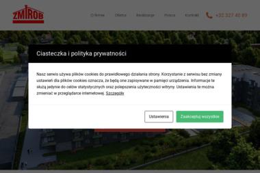 """Zakład Usługowo-Handlowy """"ZMIROB"""" S.J - Budowa Domów Tychy"""