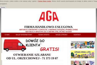 """Firma handlowo-usługowa """"AGA"""" - Kosz ze Słodyczami Wrocław"""