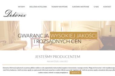 PHUP Dekorex A . Karbowski - Wyposażenie kuchni Lubawa