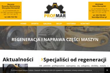 PROFMAR ADAM MARCZYŃSKI - Samochody ciężarowe Tarnowo Podgórne