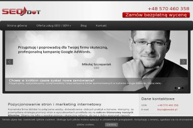 SEOdot Miko艂aj Szczepaniak - Marketing IT Gowarzewo