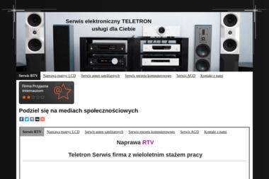 Serwis RTV Teletron Grzegorz Warzecha - Naprawa telewizorów Bielsko-Biała