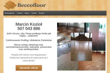 BeccoFLoor Marcin Kozioł - Cyklinowanie Szczecin