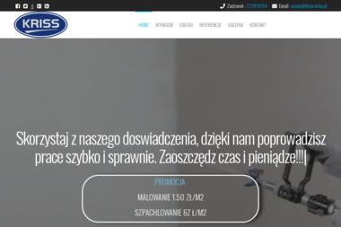 """""""KRISS"""" Robak Krzysztof - Ocieplanie Pianką PUR Grądy 145"""