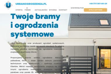 Zakład Produkcji Siatki Ogrodzeniowej Przemysław Urban - Ogrodzenia panelowe Wrocław