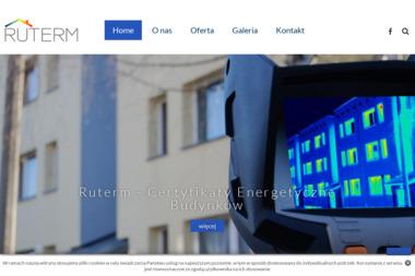 RuTerm Certyfikaty energetyczne i pomiary termowizyjne - Kamery na Podczerwień Tychy