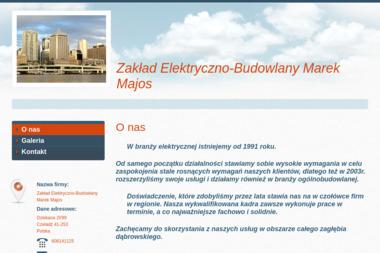 Zakład elektryczno - budowlany - Pompy ciepła Czeladź