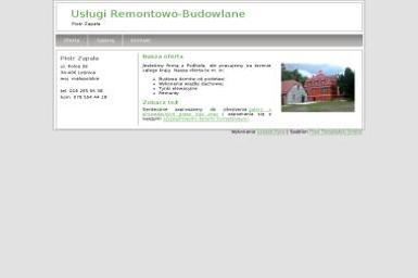Firma Remontowo -budowlana ZAPAŁA - Budowa domów Leśnica