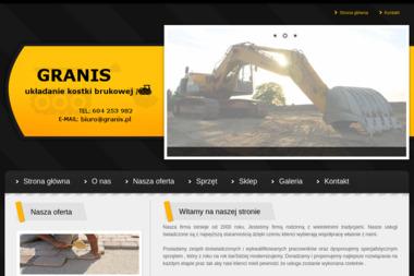 GRANIS - Roboty Ziemne Samogoszcz