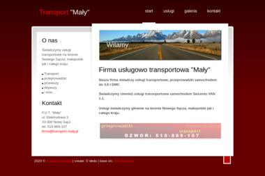 Mały Grzegorz Cisowski - Przeprowadzki Nowy Sącz
