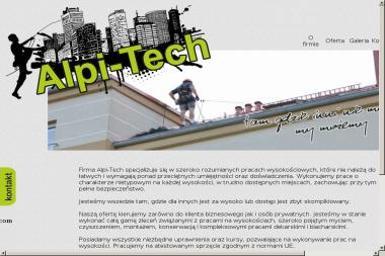 Alpi-tech - Prace wysokościowe WADOWICE