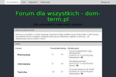 F.U.H. Dom-Term Justyna Nostkiewicz - Pianowanie Poddasza Kraków