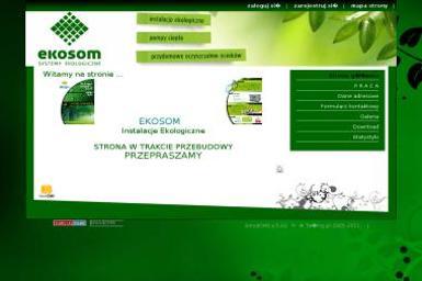 Instalacje ekologiczne EKOSOM - Fotowoltaika WYSZKÓW