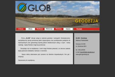 """""""GLOB"""" Geodezja, Kartografia, BHP - Geodeta Gorzyce"""