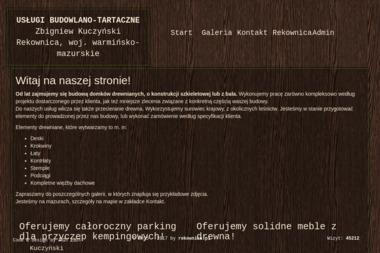 Usługo Budowlano-Tartaczne - Skład drewna Rekownica