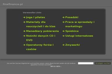 Fine Finance - Firma audytorska Bychawa
