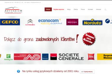 Adverbium Language Services - Kurs włoskiego Warszawa