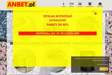 Anbet - Zakład Produkcji Elementów Budowlanych - Bramy garażowe Częstochowa