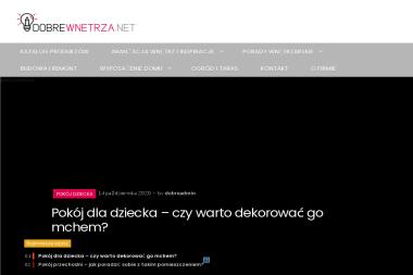 Dobre Wnętrza Patrycja Karwińska - Producent Okien PCV Sosnowiec