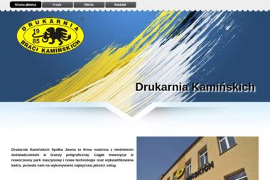 Drukarnia Kamińskich Sp.j. - Opakowania Radomsko